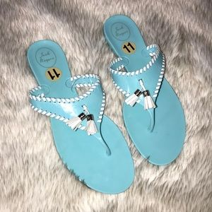 Jack Rogers jelly sandals size 11